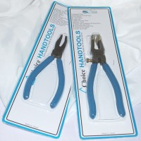 "Glass Breaking Combo Set - Choice - 6"" Mini Running Pliers and Breaker /Grozier Pliers"