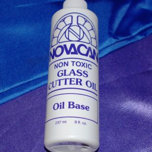 CUTTING OIL for Glass Cutter by Novacan 8 ounce (237ml) bottle