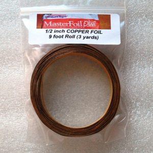 "1/2"" Copper Foil Tape - 3 yards - Venture Tape"