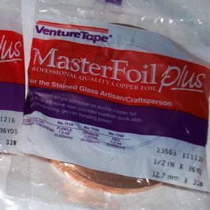 "1/2"" Copper Foil Tape - 36 yards - Venture Tape"