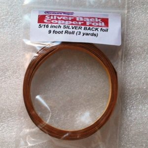 "5/16"" Copper Foil Tape SILVER BACK - 3 yards - Venture Tape"