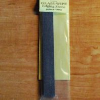 "Glass-Wipe Edging Stone - 3/4"" x 6"" - FINE GRIT Grinding Stone (Carborundum)"