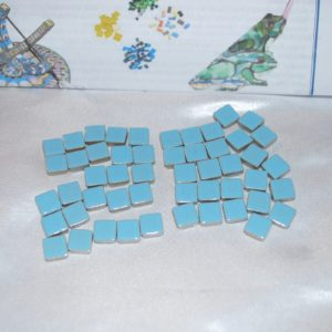 Light Blue Mosaic Tiles
