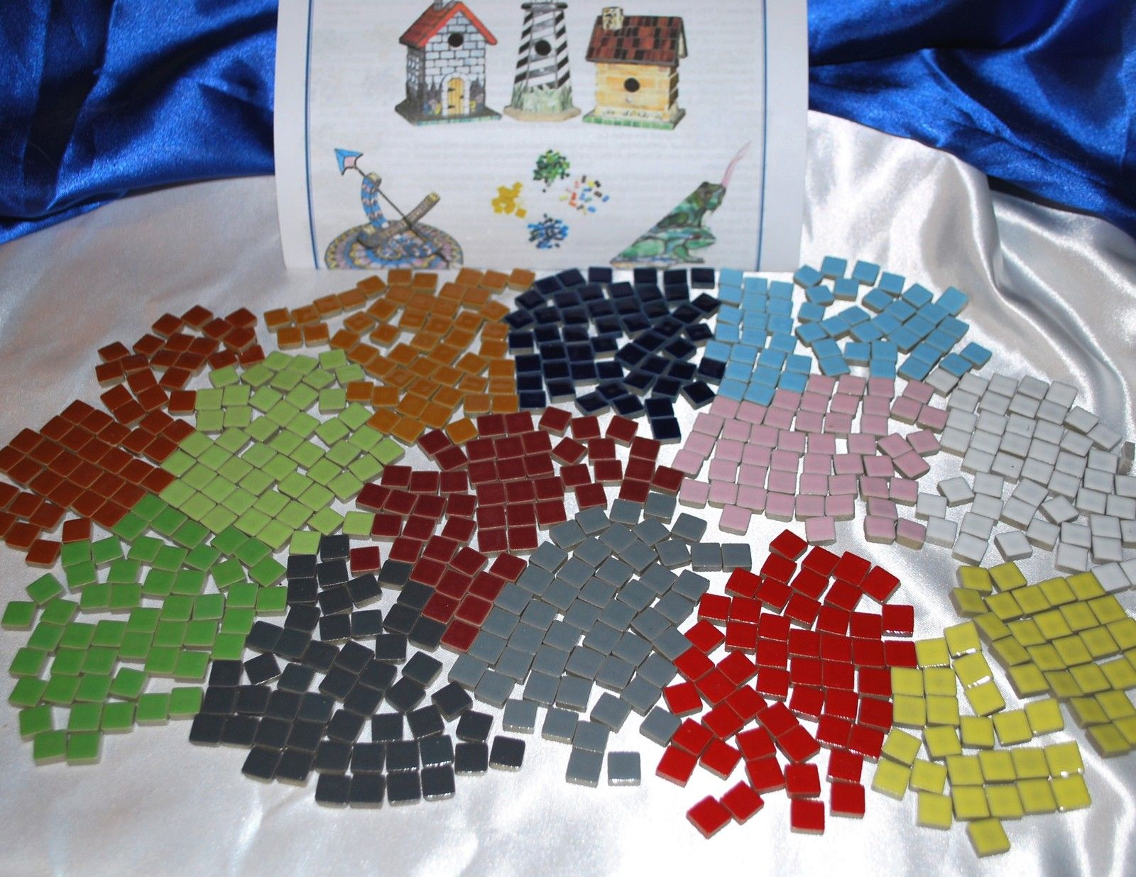3 8 Quot Small Glossy Ceramic Mosaic Tiles Instructions 14