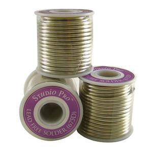 1 Pound (16 oz) Roll STUDIO PRO 675D Solder (LEAD FREE) FOR JEWELRY ETC.