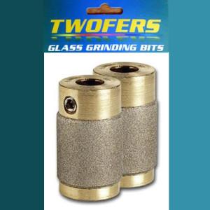 """Aanraku Twofers - 3/4"""" Grinder Bits - 220 Grit FINE // INCLUDES 2 BITS // fits most grinders"""