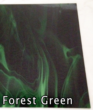 Forrest GREEN Spectrum 329.6 ~ STAINED GLASS 2 sheets each 6 x 8 ...