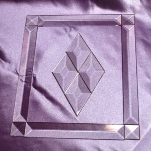 "3/4"" Pencil Bevel Frame KIT: 7.5""x11.5"" - Stained glass bevel frame kit from GlassSupplies41.com"