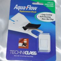 BRUSH REPLACEMENT for the Aqua Flow System.Fits all models of the Aqua Flow System by Techniglass. by GlassSupplies41